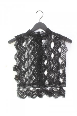 Crochet Shirt black
