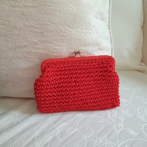Canvas Bag red