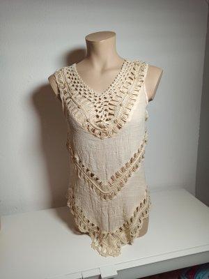 Kybele Crochet Top nude