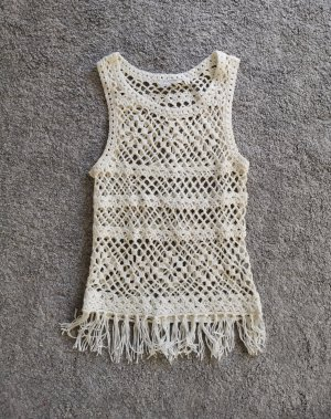 Urban Surface Crochet Top white-oatmeal