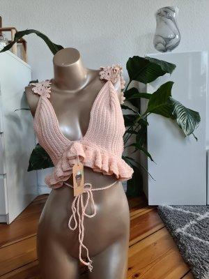 Crochet Top pink
