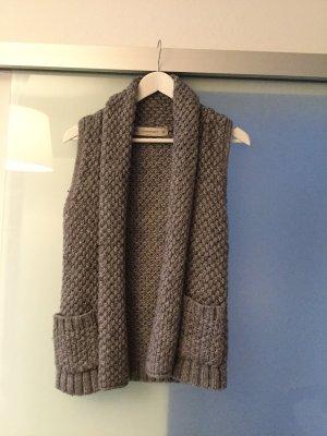 Zara Knitted Vest grey