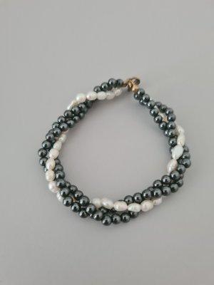 Hämatit- echte Perlen Armband vintage