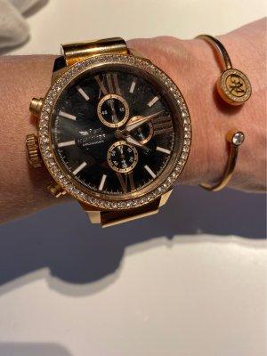 Haemmer Uhr mit Swarovski Steinen