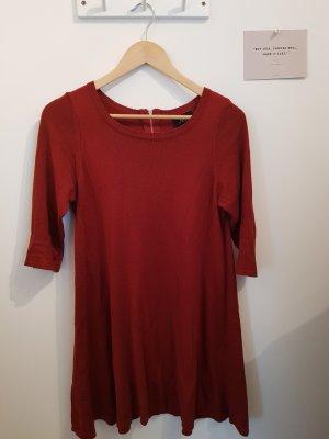 Wallis Knitted Dress carmine-russet