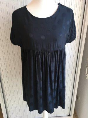 Ba&sh Sukienka mini ciemnoniebieski Wiskoza