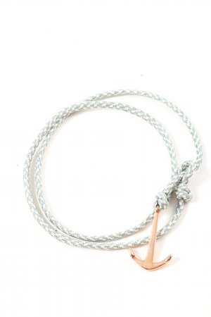 Hafen-Klunker Bracelet green-natural white casual look