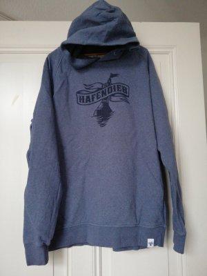 Hafendieb Long Sweater steel blue