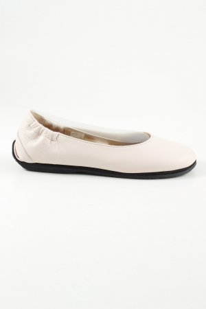 Haflinger Lackballerinas wollweiß Casual-Look