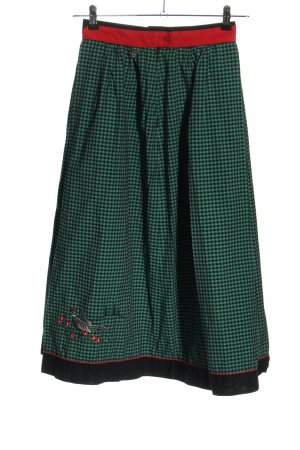 Hagro Traditional Skirt check pattern classic style
