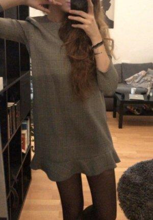 Hahnentritt Muster Kleid ZARA