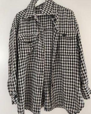 """Hahnentritt"" Oversize Jacke/Hemd"
