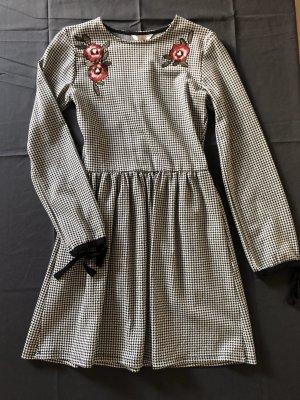 Clockhouse A-lijn jurk zwart-wit