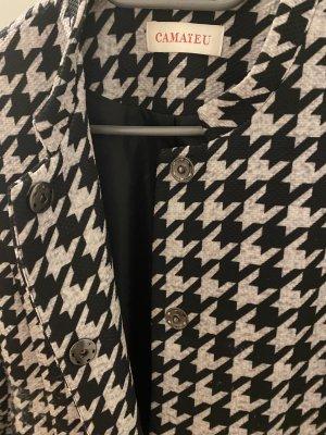Camaieu Short Coat black-silver-colored