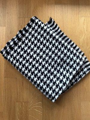 Primark Écharpe à franges noir-blanc