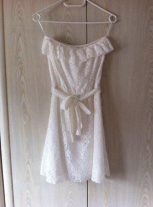 Hailys Lace Dress white