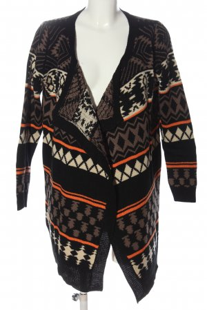 Haily's Cardigan Allover-Druck Casual-Look