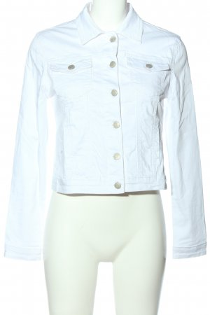 Haily's Marynarka jeansowa biały W stylu casual