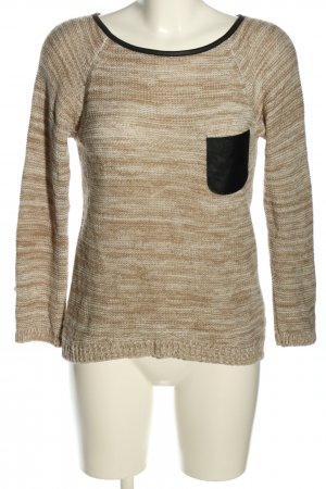 Haily's Strickpullover meliert Casual-Look