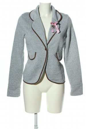 Haily's Traditional Jacket light grey casual look