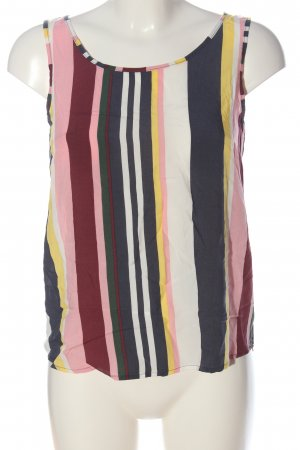 Hailys Sleeveless Blouse striped pattern casual look