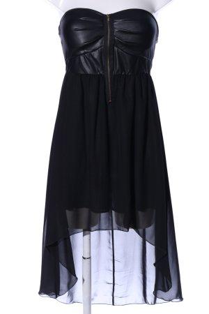 Hailys Bandeaukleid schwarz Elegant