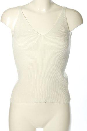 Hailys Basic Top weiß Casual-Look