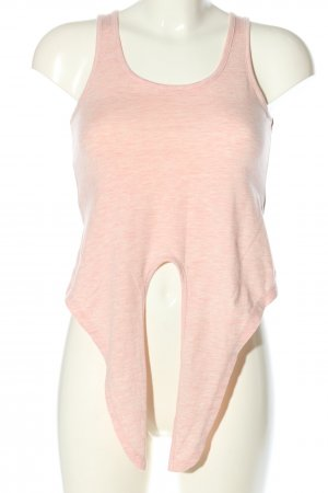 Hailys Cropped top roze gestippeld casual uitstraling