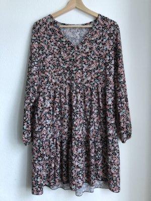 Hailys Damen Kleid Sommerkleid Blümchenkleid