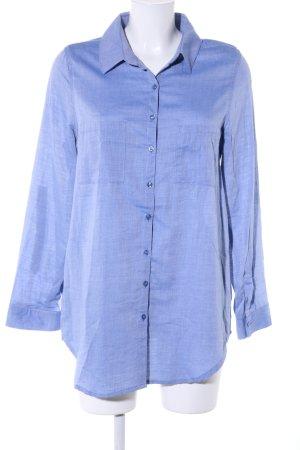 Hailys Hemd-Bluse blau Casual-Look
