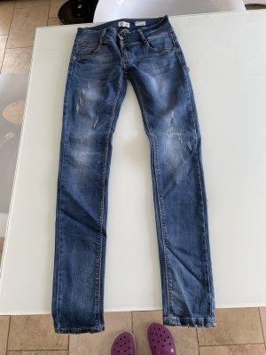 Hailys Jeans slim fit blu