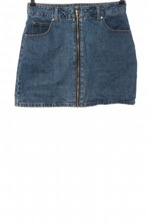 Hailys Gonna di jeans blu stile casual