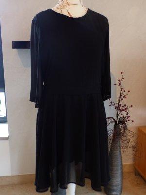 Hailys Kleid 'Fine' in schwarz