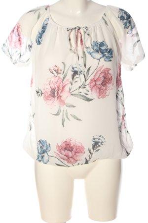 Hailys Camicetta a maniche corte motivo floreale stile casual