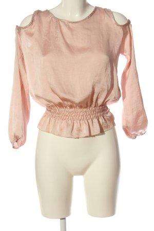 Hailys Langarm-Bluse nude Casual-Look
