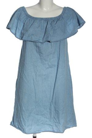 Hailys Mini vestido azul look casual