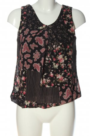 Hailys Schlupf-Bluse abstraktes Muster Casual-Look