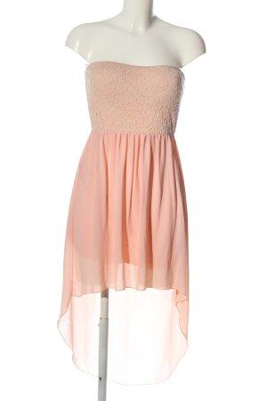 Hailys Off-The-Shoulder Dress pink-cream elegant