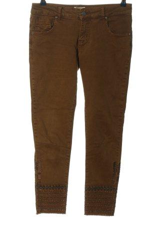 Hailys Skinny Jeans bronzefarben Casual-Look