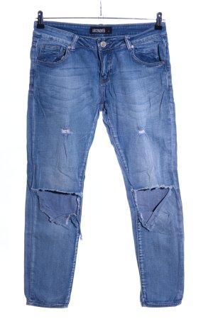 Hailys Slim Jeans blau Casual-Look