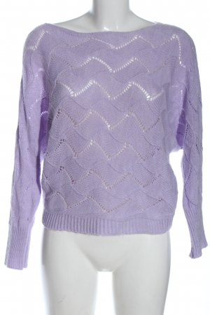 Hailys Strickpullover lila Casual-Look