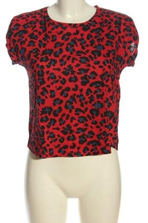 Hailys T-Shirt abstraktes Muster Casual-Look