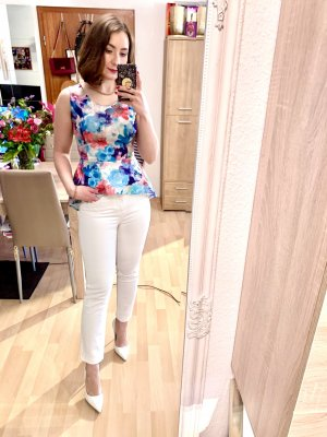 Hailys Peplum Top multicolored