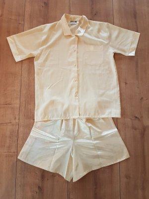 Pyjama primrose-pale yellow polyester