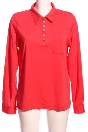 Hajo Lang shirt rood casual uitstraling