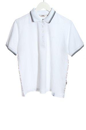 Hajo Polo-Shirt weiß Casual-Look