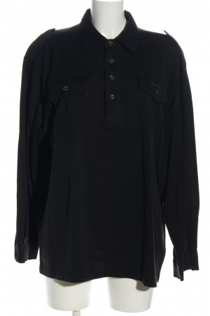 Hajo Polo-Shirt schwarz Casual-Look