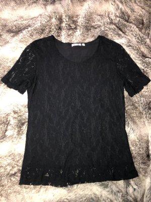 HAJO Schwarzes spitze Shirt
