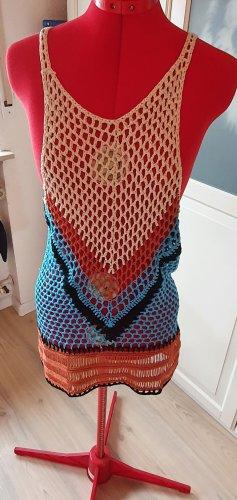 Sukienka plażowa Wielokolorowy Tkanina z mieszanych włókien