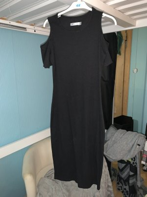 halb Schulterfreies Kleid